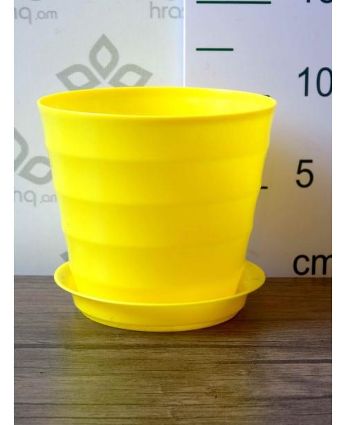 """Ծաղկաման """"Լաուրա"""", դեղին, 0,7լ"""