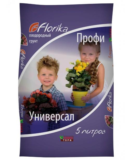 """Պտղաբեր հող Florika """"Պրոֆի Ունիվերսալ"""", 5լ"""