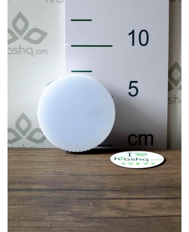 Ecola Light GX53 լամպ LED 11,5W 220V 4200K փայլատ 27x75