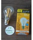 Լամպ Ecola Classic LED Premium 8,0W A60 220-240V E27 2700K 360° filament թափանցիկ թելաձև (Ra 80, 100 Lm/W, КП=0) 105x60