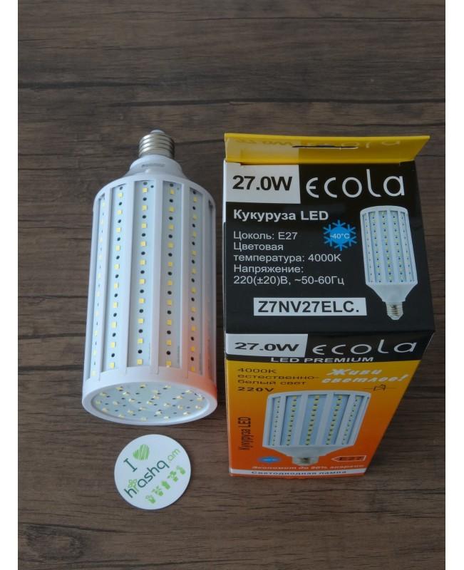 Лампа Ecola Corn LED Premium 27,0W 220V E27 4000K кукуруза 220x85