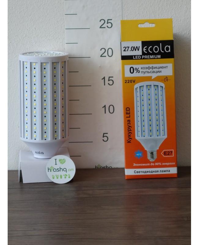 Լամպ Ecola Corn LED Premium 27,0W 220V E27 4000K եգիպտացորեն 220x85