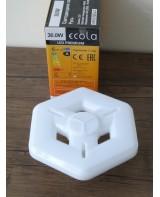 Լամպ Ecola High Power LED Premium 38W 220V Ղեկ (6 նիստ) E27 4000K 205х184x99