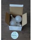 Ecola Light Globe լամպ LED 7,0W G45 220V E14 4000K կոմպոզիտ 82x45