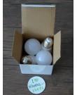 Лампа Ecola Light Globe LED 7,0W G45 220V E27 2700K композит 82x45
