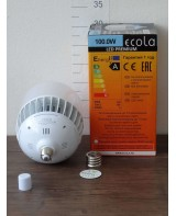 Լամպ Ecola High Power LED Premium 100W 220V ունիվերս. E27/E40 6000K 280х160