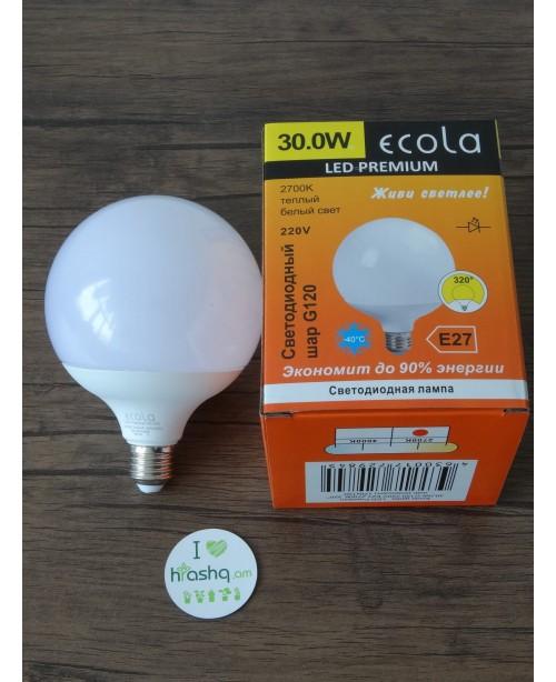 Լամպ Ecola Globe LED Premium 30,0W G...