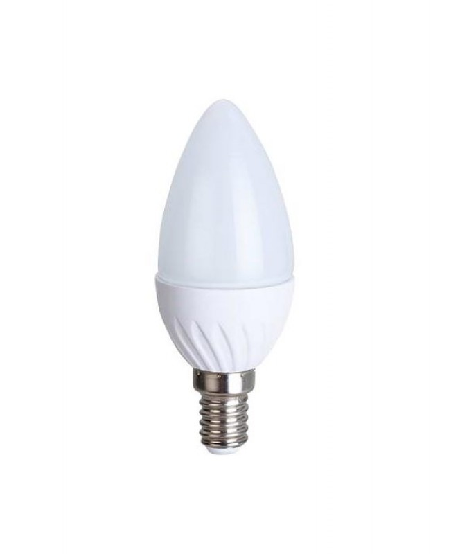 Լամպ Ecola Light Candle LED 6,0W 220V E14 2700K մոմ 100x37