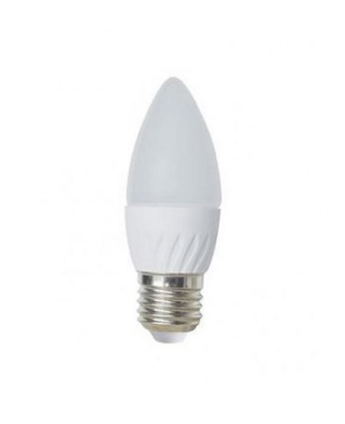 Лампа Ecola Light Candle LED 6,0W 220V E27 2700K свеча 100x37