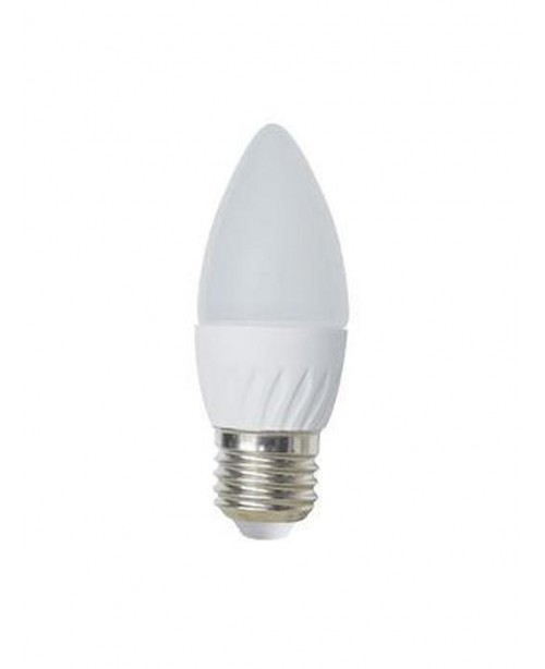 Лампа Ecola Light Candle LED 6,0W 220V E27 4000K свеча 100x37