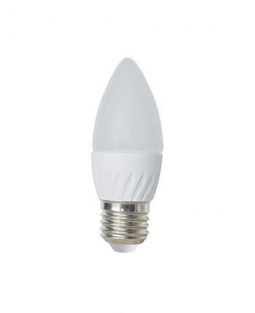 Ecola Light Candle լամպ LED 6,0W 220V E27 4000K մոմ 100x37