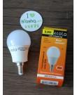 Լամպ Ecola Globe LED Premium 8,2W G50 220V E14 2700K գունդ 270° կոմպոզիտ 95x50