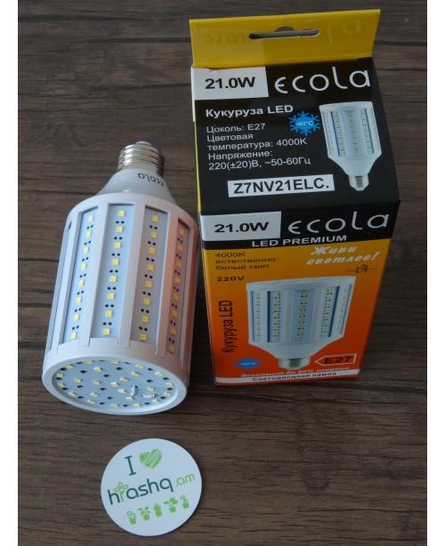 Лампа Ecola Corn LED Premium 21,0W 220V E27 4000K кукуруза 152x72