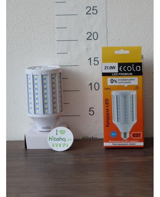 Լամպ Ecola Corn LED Premium 21,0W 220V E27 4000K եգիպտացորեն 152x72