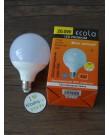 Лампа Ecola Globe LED Premium 20,0W G95 220V E27 2700K шар 320° композит 140x95