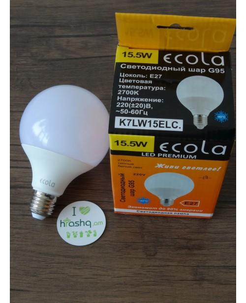 Լամպ Ecola Globe LED Premium 15,5W G...