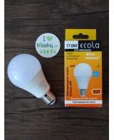 Лампа Ecola Light Classic LED 17W A60 220-240V E27 4000K композит 122x65