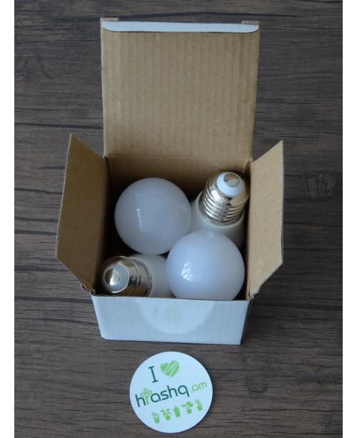 Ecola Light Globe լամպ LED 7,0W G45 220V E27 4000K կոմպոզիտ 82x45