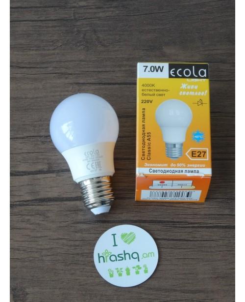 Ecola Light Classic LED լամպ 7,0W A5...