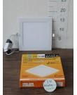 Лампа Ecola LED Downlight 12W 220V 4200K 170x170x20. Квадратный, встраивaемый.