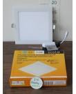 Лампа Ecola LED Downlight 15W 220V 4200K 195x195x20. Квадратный, встраивaемый.
