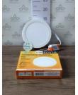 Ecola LED downlight накладной Круглый даунлайт с драйвером 12W 220V 4200K 160x32