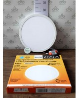 Ecola LED downlight արտաքին Կլոր դաունլայթ դրայվերով 24W 220V 4200K 285x32
