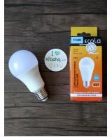 Лампа Ecola Light Classic LED 17W A60 220-240V E27 6500K композит 122x65