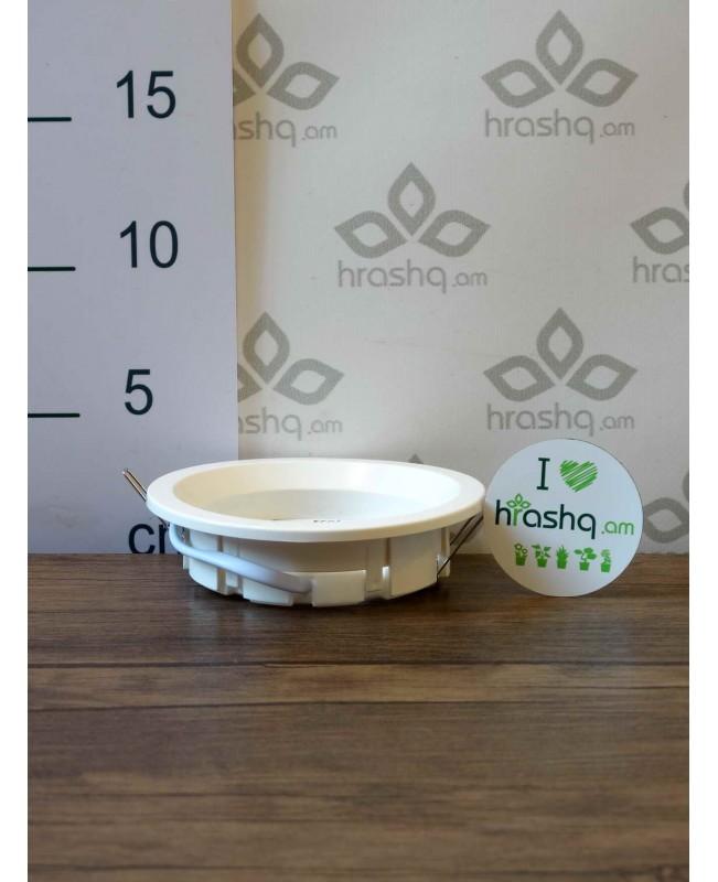 Ներկառուցվող լուսատու Ecola GX53 FT3225 համար, խորը, սպիտակ, թեթև, 27x109