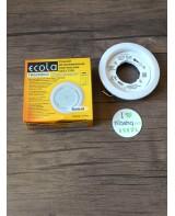 Встраиваемый Светильник Ecola для GX53 5355, белый, легкий, 25x106