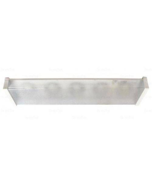 Արտաքին լուսատու Ecola Light GX53 LED ДПО12-2х8-002  5*GX53 փայլատ, սպիտակ, ուղղանկյուն 638х165х70 մմ