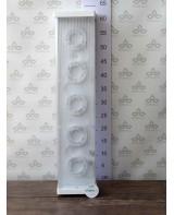 Արտաքին լուսատու Ecola Light GX53 LED ДПО12-2х8-002  5*GX53 փայլատ, սպիտակ, ուղղանկյուն 638х165х...