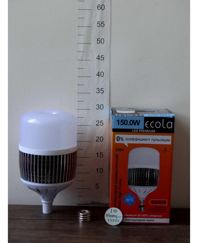 Լամպ Ecola High Power LED Premium 150W 220V ունիվերս. E27/E40 6000K 280х180