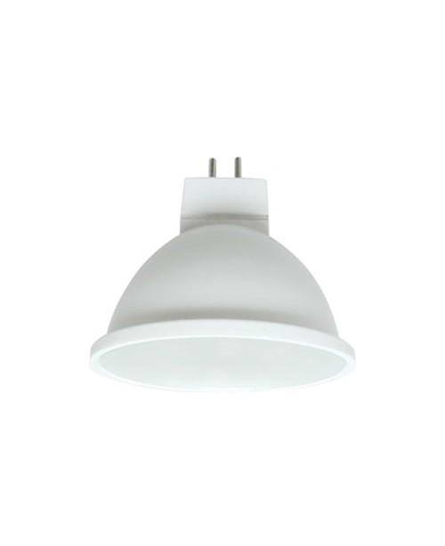 Ecola Light MR16 լամպ LED 5,4W 220V GU5.3 4200K փայլատ 48x50