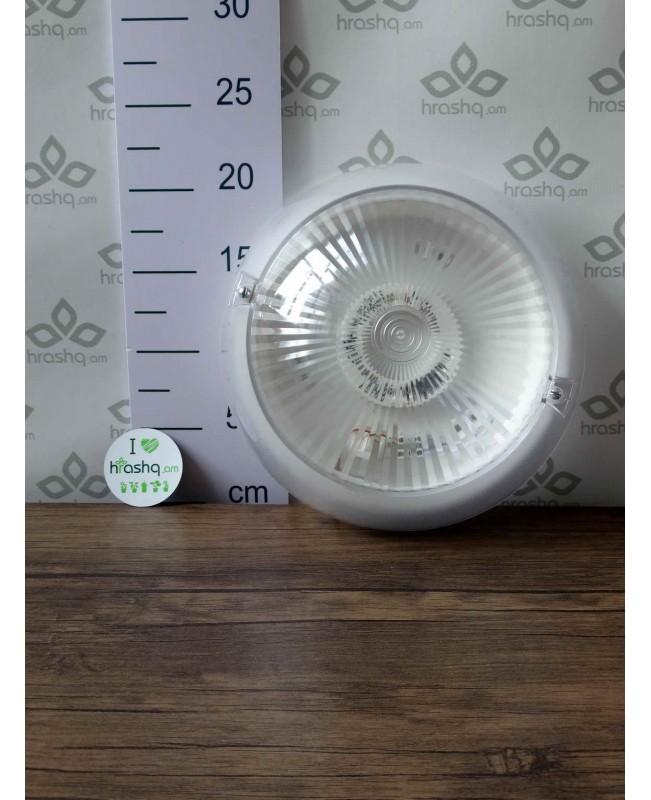 Արտաքին լուսատու Ecola Light GX53 LED Սիրիուս 1*GX53 փայլատ ապակի IP65 սպիտակ 220х220х100մմ