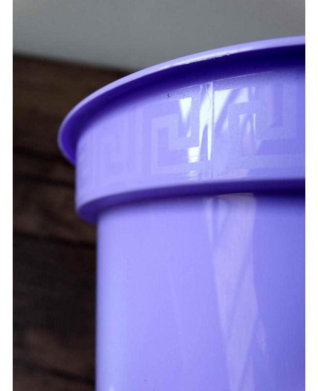 Ծաղկաման կլասիկ 15սմ մանուշակագույն