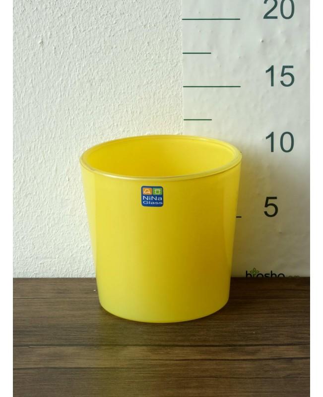 """Կաշպո """"91-110"""" թափանցիկ, ներկված դեղին"""
