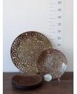 "Набор тарелок ""Восток"" шоколад 7штук"